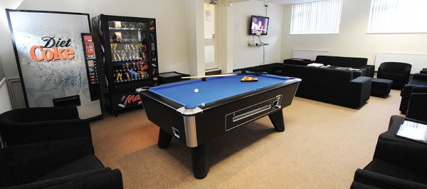 Avon Way Common Room Pool Table