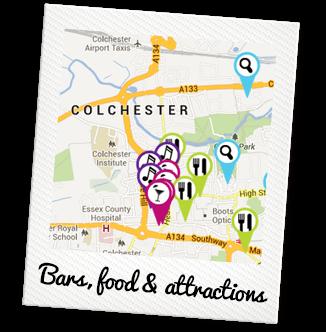 Colchester Places Polaroid