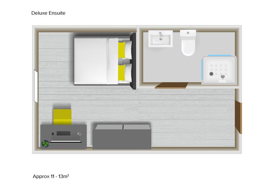 Deluxe Ensuite floorplans