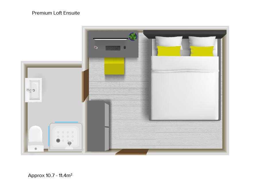 Premium Loft floorplans