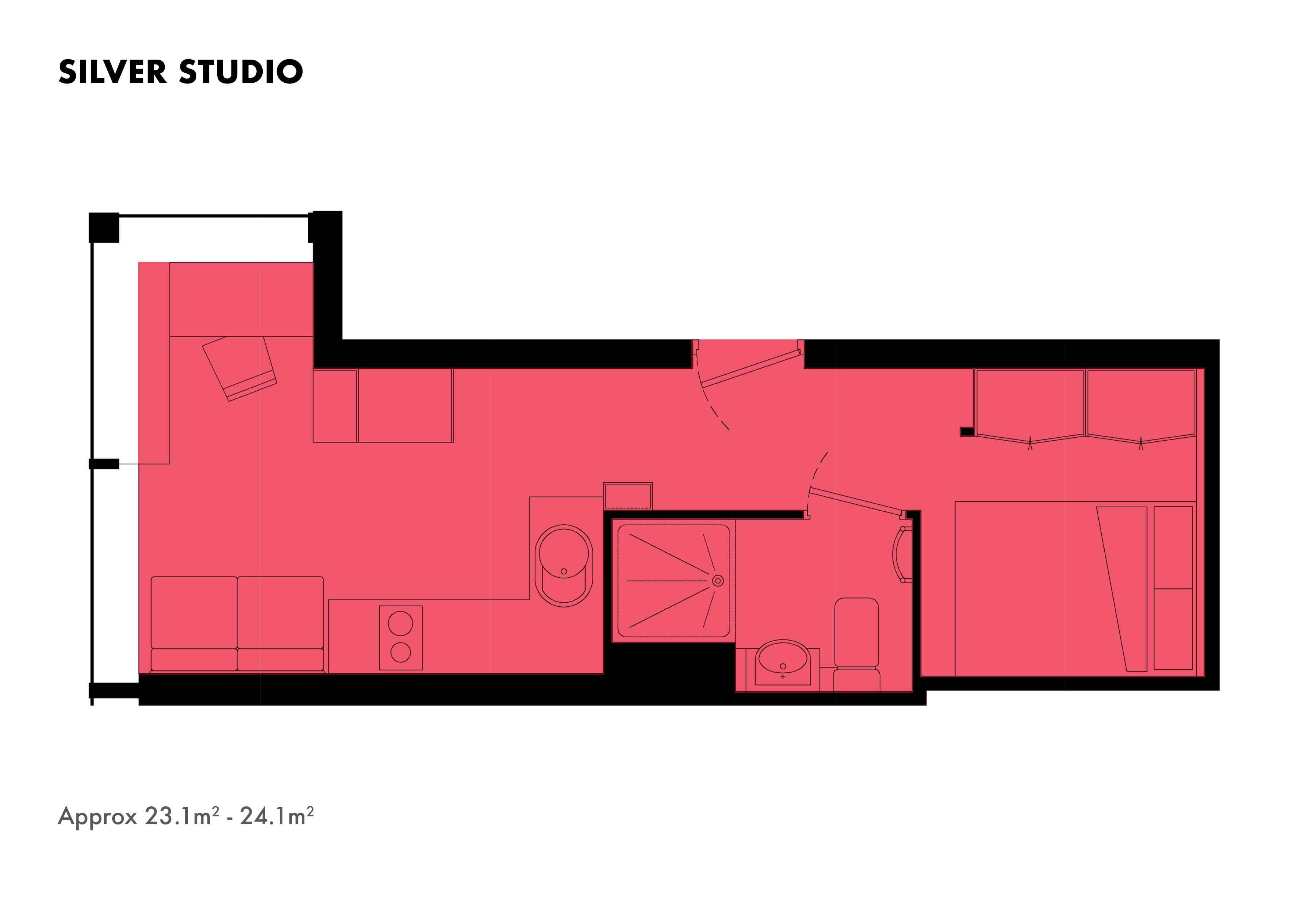 Silver Studio floorplans