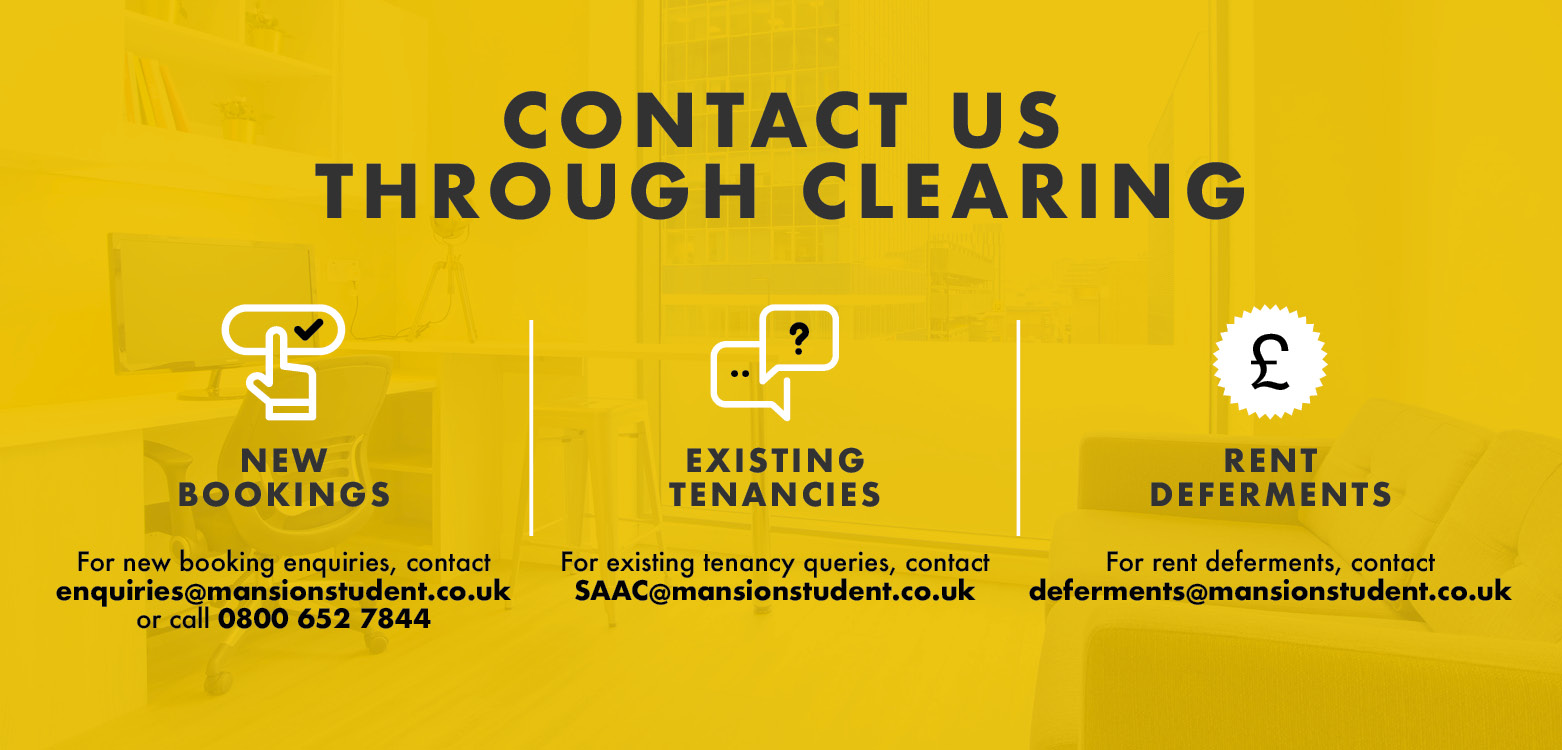 Contact Clearing large Banner